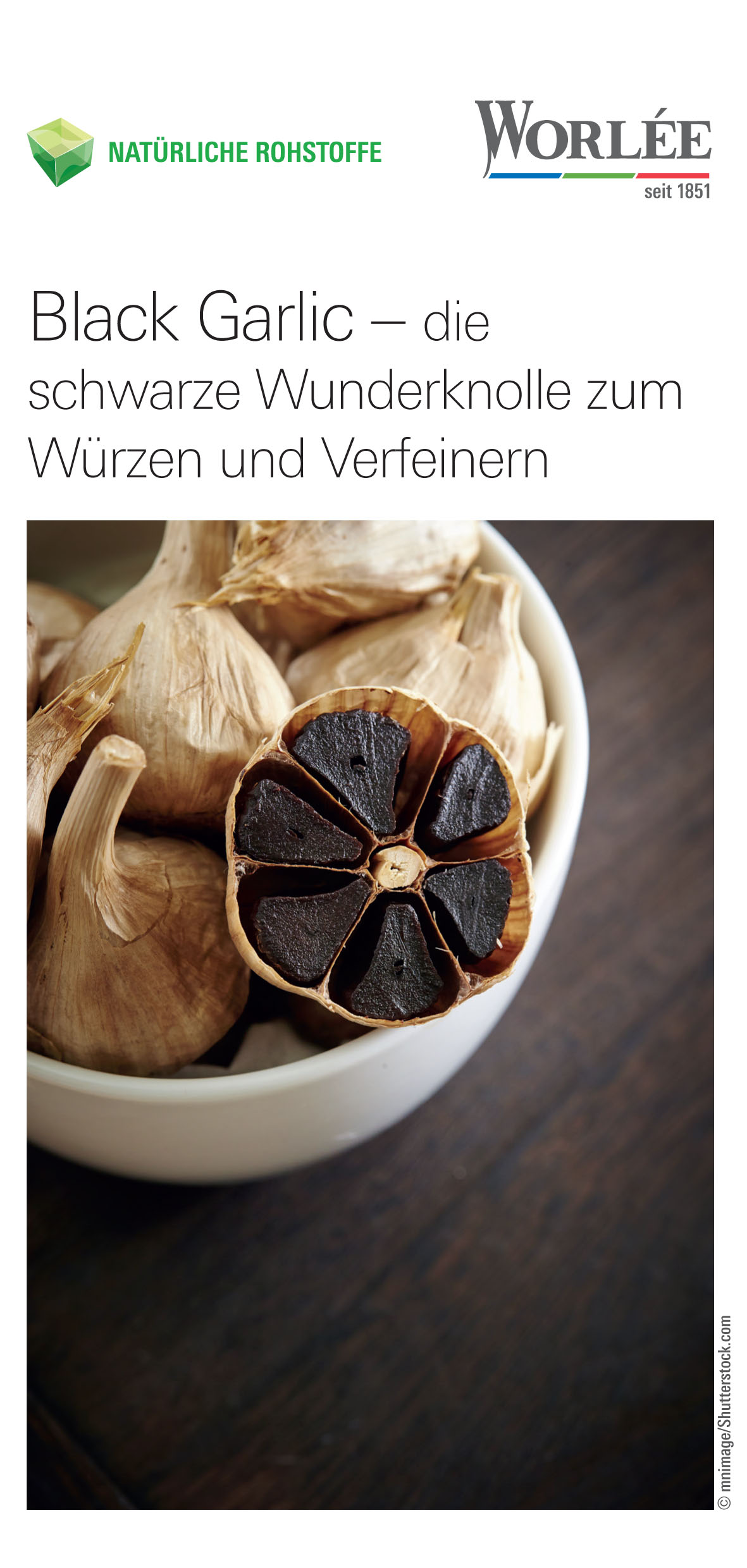 Worlée Black Garlic Flyer